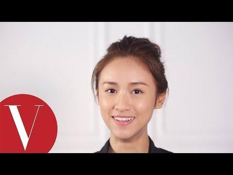 女星請分享︱吳姍儒教妳「男友視訊專用」包頭怎麼綁