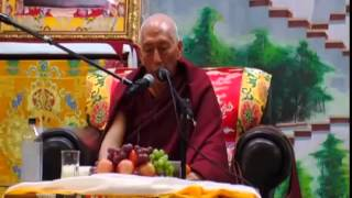 Public Talk by Trisur Prof. Samdhong Rinpoche on Middle Way Approach and Dolgyal at New York, 17 April 2015