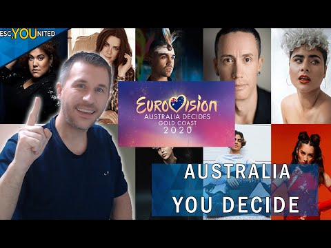 Eurovision 2020 - Australia Decides I SONGS REACTION