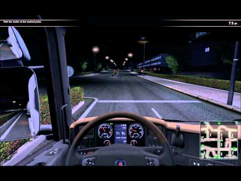 Scania Truck Driving Simulator Gameplay - 'Free Roam' Deliveries Map