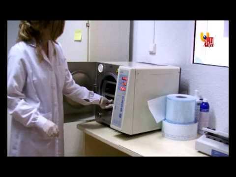 Limpieza del material - Esterilización