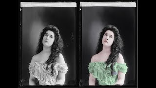 22 Colorized Photos of Victorian/Edwardian Beauties
