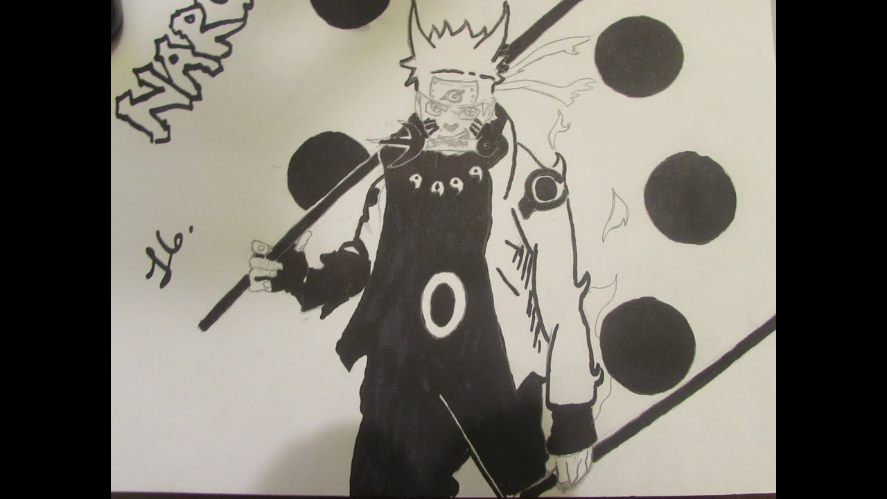Six Paths Madara Drawing Drawing Naruto Sage of Six