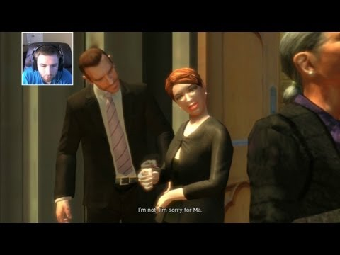 GTA IV #55 Funeral Shoot Out (Grand Theft Auto)