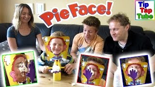PIE FACE Challenge - Super lustiges Sahne Party Spiel Russian Roulette Deutsch Kinderkanal