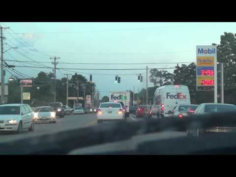 2014-08-27 Going by the 99 restaurant on 123 in Easton then stopping at McDonalds