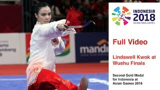 Full Video - Lindswell Kwok - Wushu at Asian Games 2018
