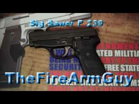Sig Sauer P239 - Excellence in 9mm - TheFireArmGuy