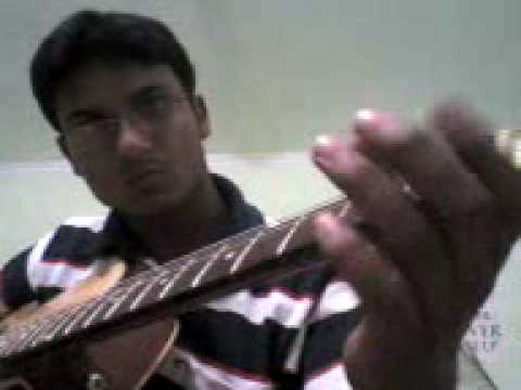 Chalte Chalte Yunhi performed by me(Shiva) on guitar