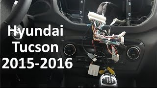 Instalación Navegador multimedia GPS Hyundai Tucson 2016