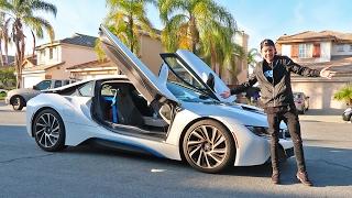 I STOLE HIS BMW i8!
