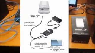 Configuración NanoStation LOCO M2 - Conexion Punto A Punto - Acces Point .- puente bridge