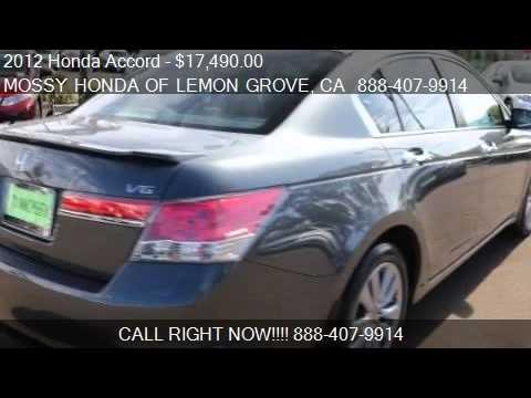2012 honda accord ex v6 4dr sedan for sale in lemon grove for Honda of lemon grove