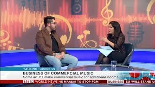 Making a Living by Composing Music for Stock Music Libraries (BBC World News Interview)