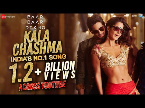 Kala Chashma - Full Video | Baar Baar Dekho | Sidharth Katrina | Prem Hardip Badshah Neha Indeep B