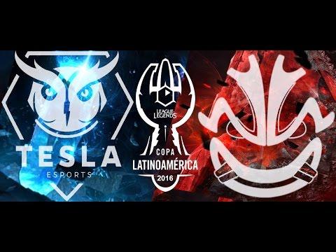 Revenge eSports Vs Tesla E-Sports Match 2 Copa Latam