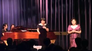 "『Dio, che mi vedi in core ""Anna Bolen""』- Aeria Chang, Liyun Yeung, Violin: Linda Kang"