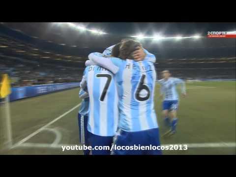Argentina Mundial 2014- Sube la mano y grita gol! Miralo en HD