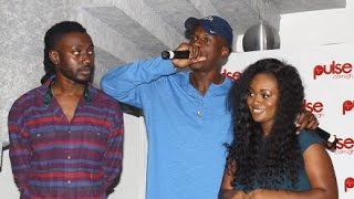 Joey B & Pappy Kojo sing happy birthday for Jackie Appiah