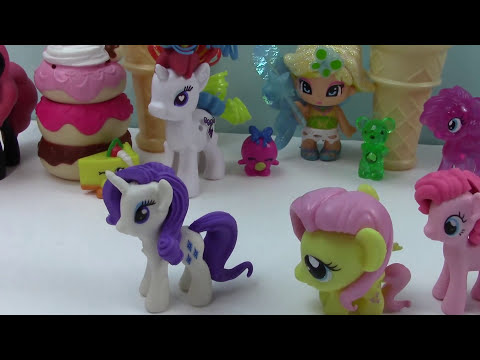 MLP Fashems Mystery Surprise Blind Bag Puzzle Eraseez My Little Pony Toys Unboxing Review