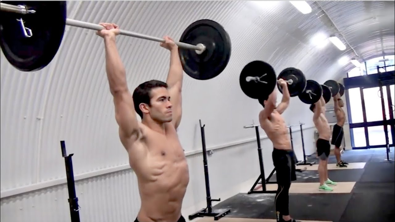 Crossfit Total Body Workout Part 2 Youtube