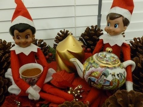 Christmas Day 20 Meebles The Elf On The Shelf Is Better
