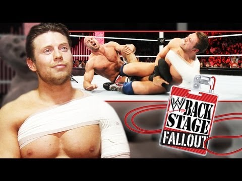 Backstage Fallout - The Miz And His Awesome Victory - Raw - February 18, 2013 video