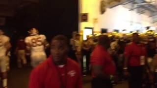 In the tunnel... 2013 BCS National Championship