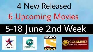 4 New Released - 6 Upcoming South Hindi Movies (June 2nd Week) | World Television Premiere