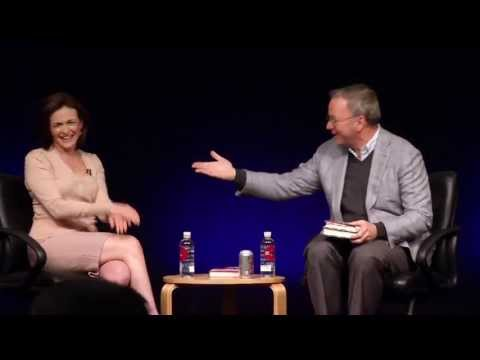 Lean In: Women, Work and the Will to Lead. Author Sheryl Sandberg in Conversation with Eric Schmidt