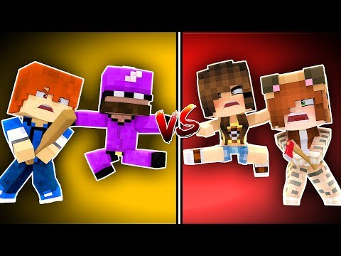 Minecraft Daycare - GIRLS VS BOYS !? (Minecraft Roleplay)