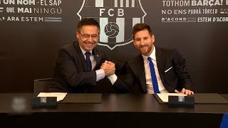 Tin Thể Thao 24h Hôm Nay (7h - 26/11): Messi Gia Hạn Hợp Đồng Với Barcelona Đến 2021