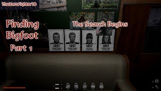 Finding Bigfoot Part 1: The Search Begins - Bigfoot Gameplay with SAUBER
