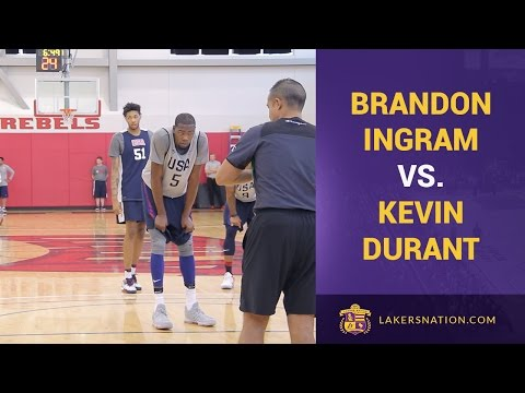 Kevin Durant, Brandon Ingram Team USA Scrimmage Footage