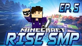 MineCraft Rise SMP! Episode 5 - Linking the Nether Portals!
