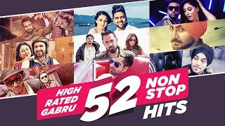 """High Rated Gabru 52 Non Stop Hits"" 