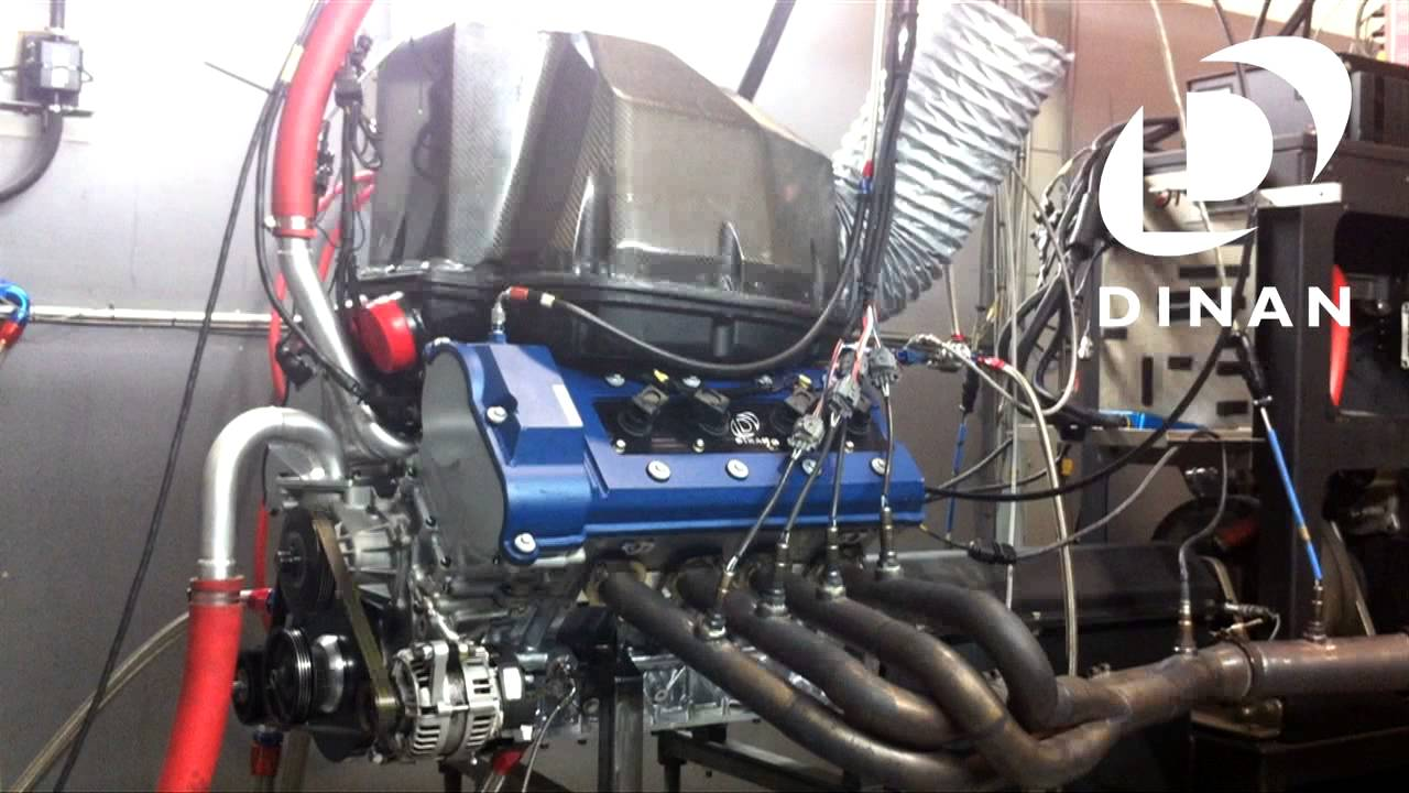 Dinan Tuned Bmw Power Race Engine Dyno Run S62 Bmw V8