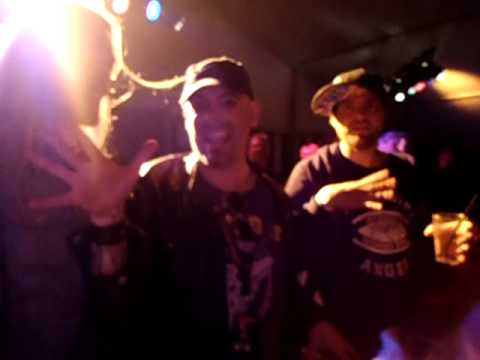 Samuli, Alan and Daniel going mental @ Rockhard Festival Partytent 2011