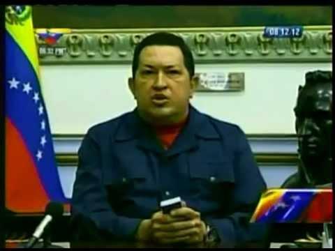 Hugo Chávez: Su último mensaje