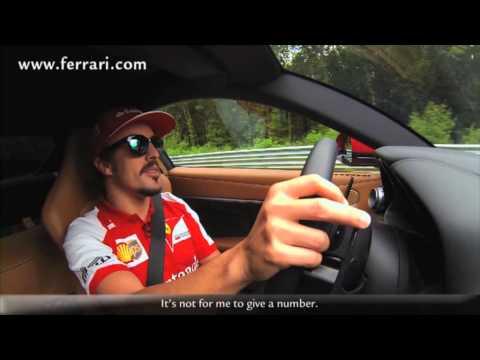 Fernando Alonso auf der Nordschleife