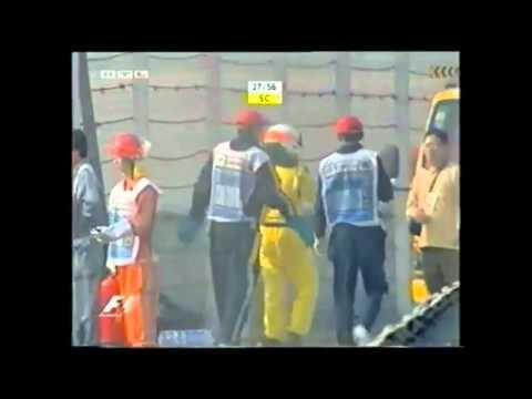 Narain Karthikeyan Unfall China 2005