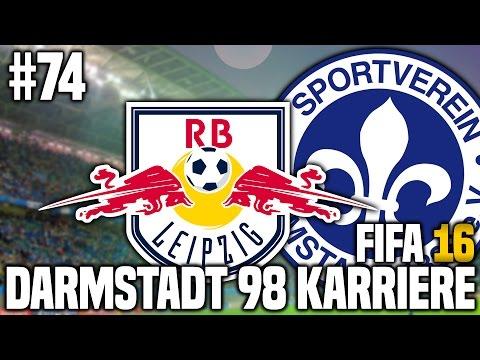FIFA 16 KARRIEREMODUS #74 - DAS PROJEKT LEIPZIG! | FIFA 16 KARRIERE SV DARMSTADT 98 [S2EP32]