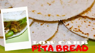 How to make Low Carb Pita Bread| Coconut Flour Keto Wraps| No bake low carb pita bread| vlog#50