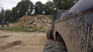Ford Rangers Climbing Blue Berry Rock Crawl at Southington - GoPro