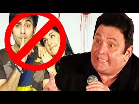 Rishi Kapoor shows his anger on Ranbir Kapoor as Katrina Kaif visits his house
