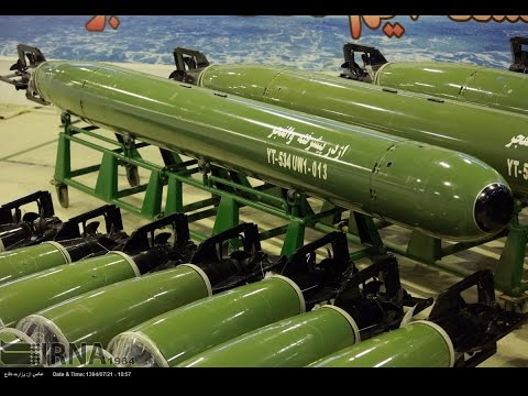 Iran test-fires Valfajr torpedo