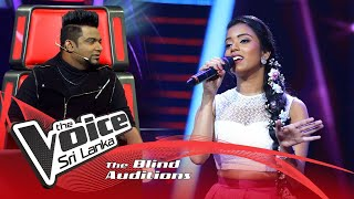 Hiruni Thathsarani - Dil Se Re | Blind Auditions | The Voice Sri Lanka
