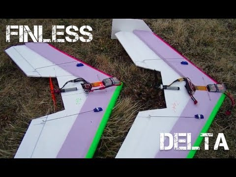 Fin-less Delta Wing Experiment