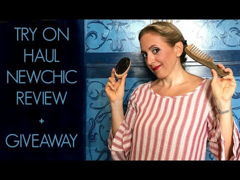 TRY ON HAUL  NewChic REVIEW e GIVEAWAY! Ombretta