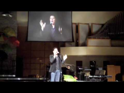 Jason Forbach sings Pasek and Pauls Part of a Painting from EDGES